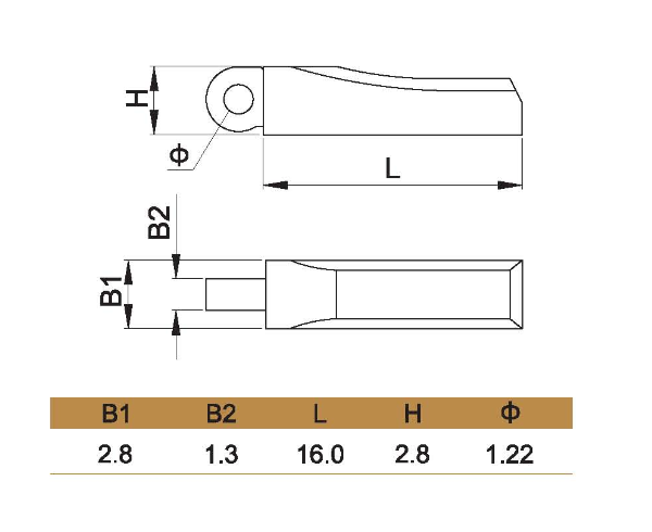 eyeglass spring hinge part replacement small short