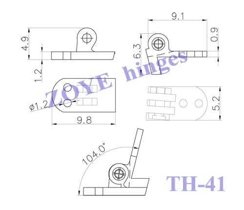 hottest universal hinges