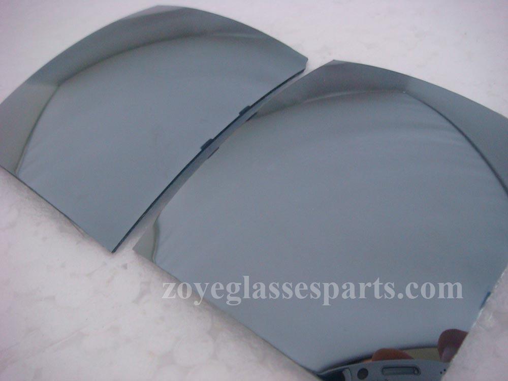 polarized lens revo white mercury UV400 1.0mm thickness for sunglasses TAC 65mm plus 55mm