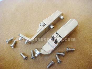 screw on spring hinge for wood frames