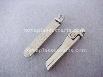 glue on spring hinge for wood eyeglass TSH-56