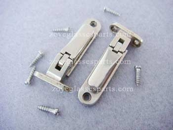 clamping screwing on spring hinge for wood bamboo frames TSH-59-A